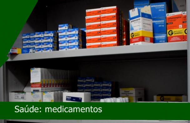 SAÚDE: MEDICAMENTOS AO ALCANCE DA POPULAÇÃO!