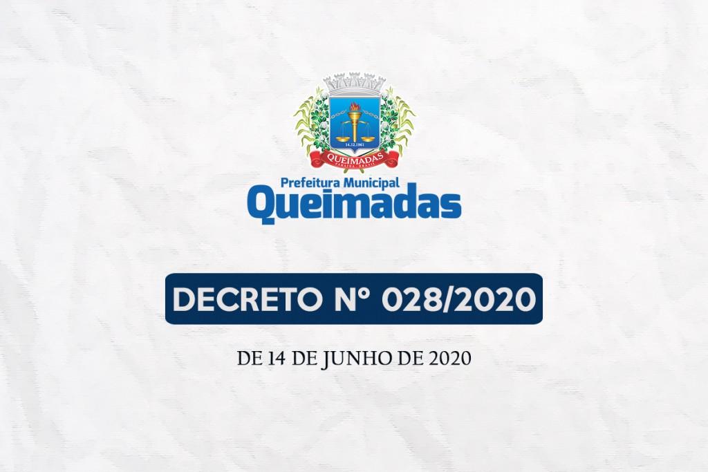 Prefeitura de Queimadas atualiza regras para funcionamento dos estabelecimentos comerciais e prorroga suspensão de aulas