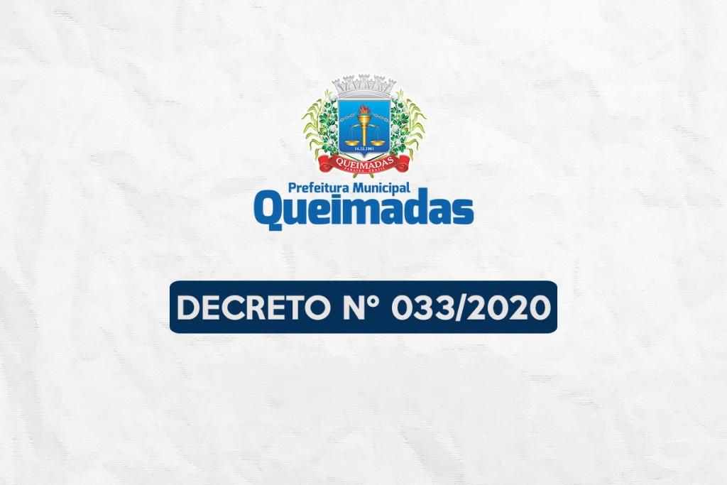 Prefeitura de Queimadas publica novo decreto flexibilizando funcionamento de academias, bares e restaurantes