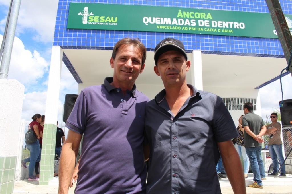 Prefeitura inaugura Unidade Âncora de Saúde no Sítio Queimadas de Dentro