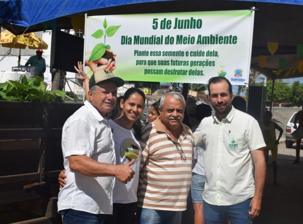 Secretaria de Agricultura e Meio Ambiente promove ações de conscientização ambiental junto à população