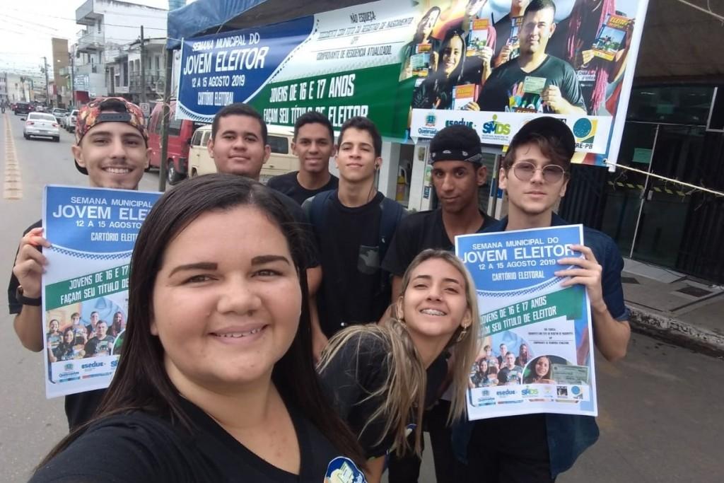 Município de Queimadas/PB promove a Semana do Jovem Eleitor