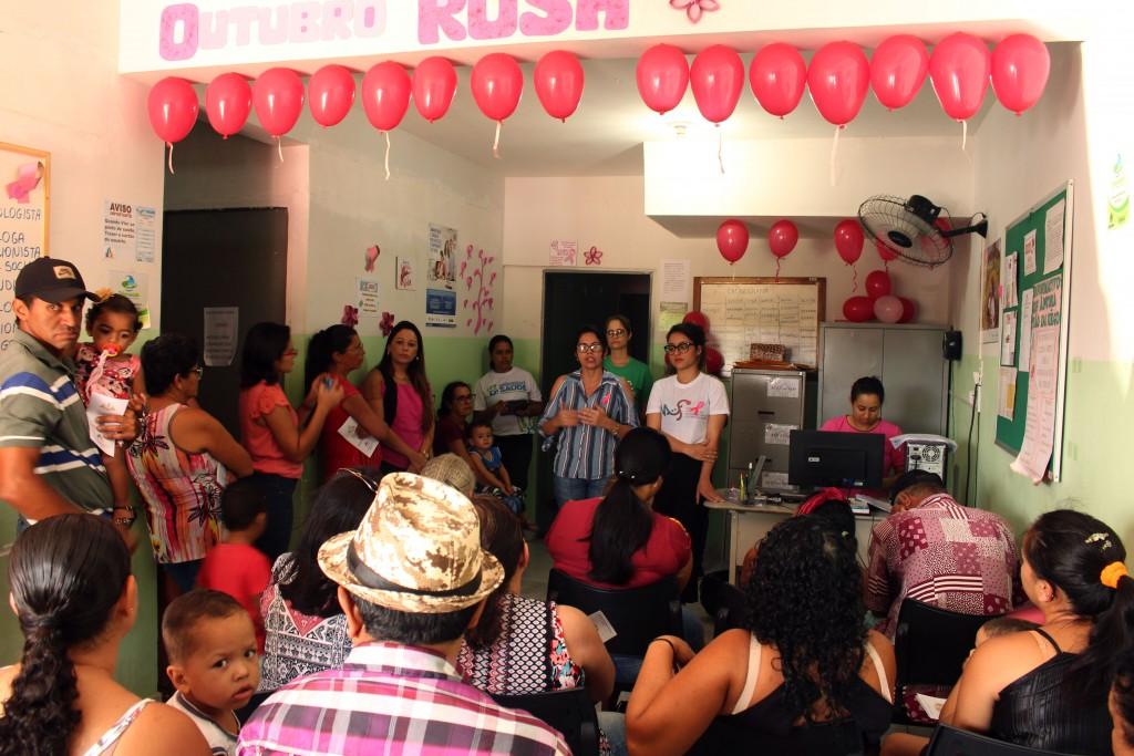 Outubro Rosa: unidades básicas de saúde realizam ações alusivas à campanha