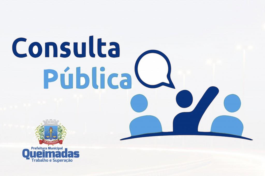 Prefeitura de Queimadas abre consulta pública para contratação de Parceria Público-Privada
