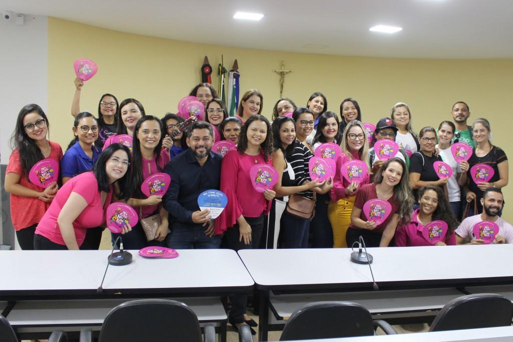 """Rede de Atendimento à Mulher lança campanha """"Meu corpo não é sua folia"""" em Queimadas-PB"""