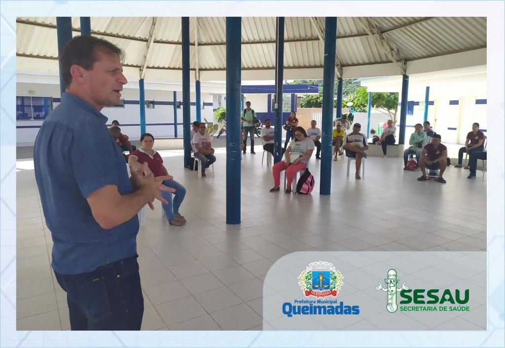 Prefeito se reúne com agentes comunitários de saúde e de combate as endemias para traçar estratégias contra coronavírus