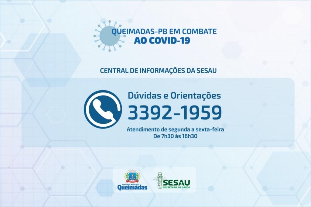 Secretaria Municipal de Saúde cria central de informações para atendimentos à população queimadense