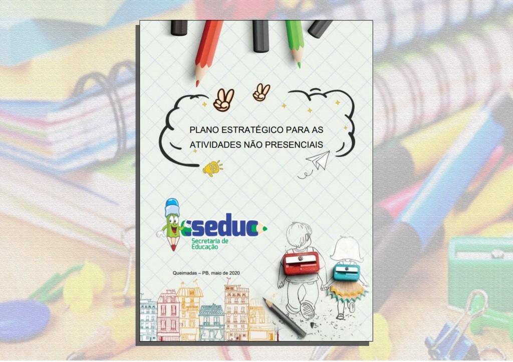 Seduc lança Plano Estratégico para auxiliar os professores na aplicação das atividades não presenciais