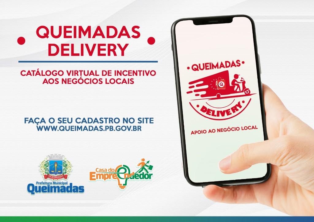 """Prefeitura de Queimadas lança campanha """"Queimadas Delivery – apoio ao negócio local"""""""