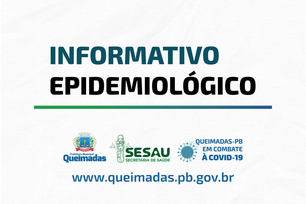 Prefeitura de Queimadas lança boletim informativo sobre evolução da covid-19 no município