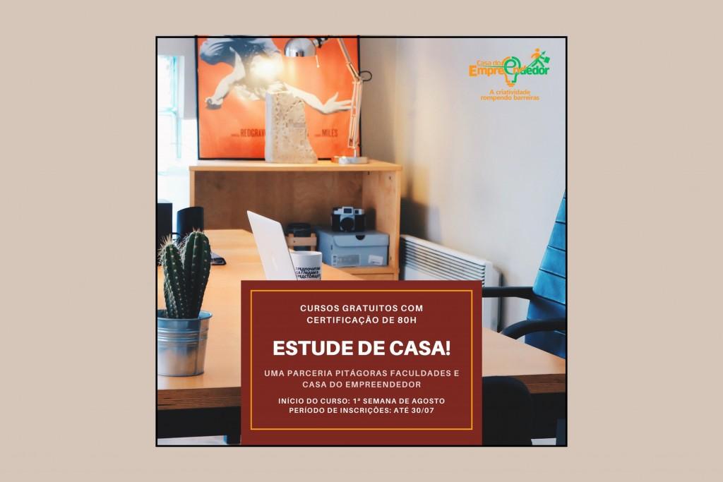 Casa do Empreendedor firma parceria com a Faculdade Pitágoras para cursos na modalidade EAD