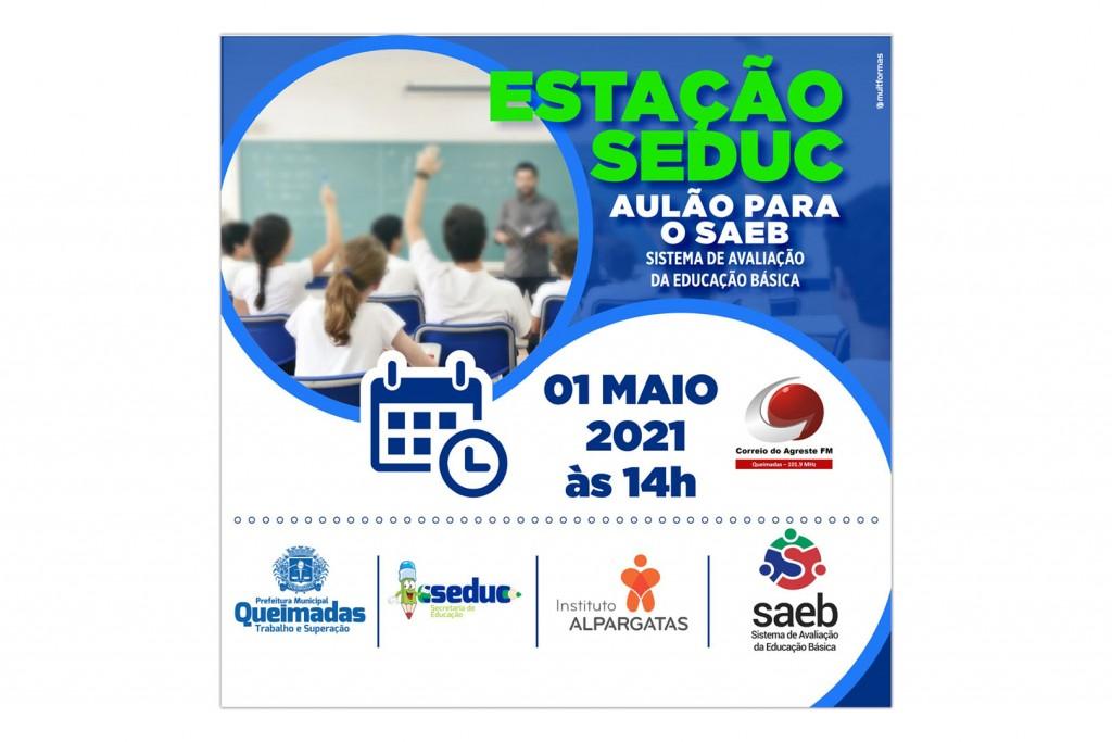 Estação SEDUC: Secretaria de Educação lança programa de rádio com aulões preparatórios para a avaliação SAEB