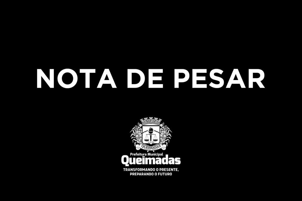 Nota de Pesar - José Cláudio Mendes Cabral