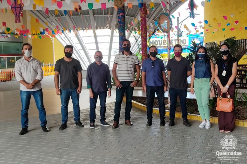 Empreendedorismo: equipe da Prefeitura de Queimadas visita Sumé-PB para compartilhar experiências de gestão