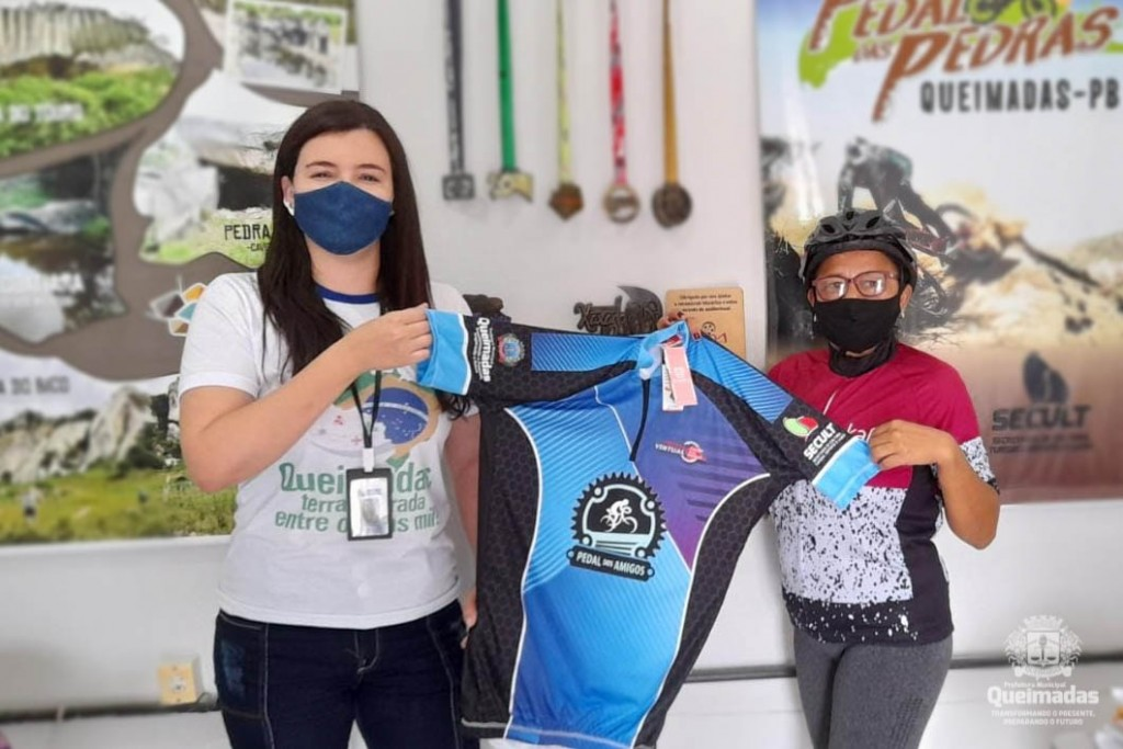 Pedal Virtual Cidade das Pedras: SECULT entrega premiação aos ciclistas vencedores