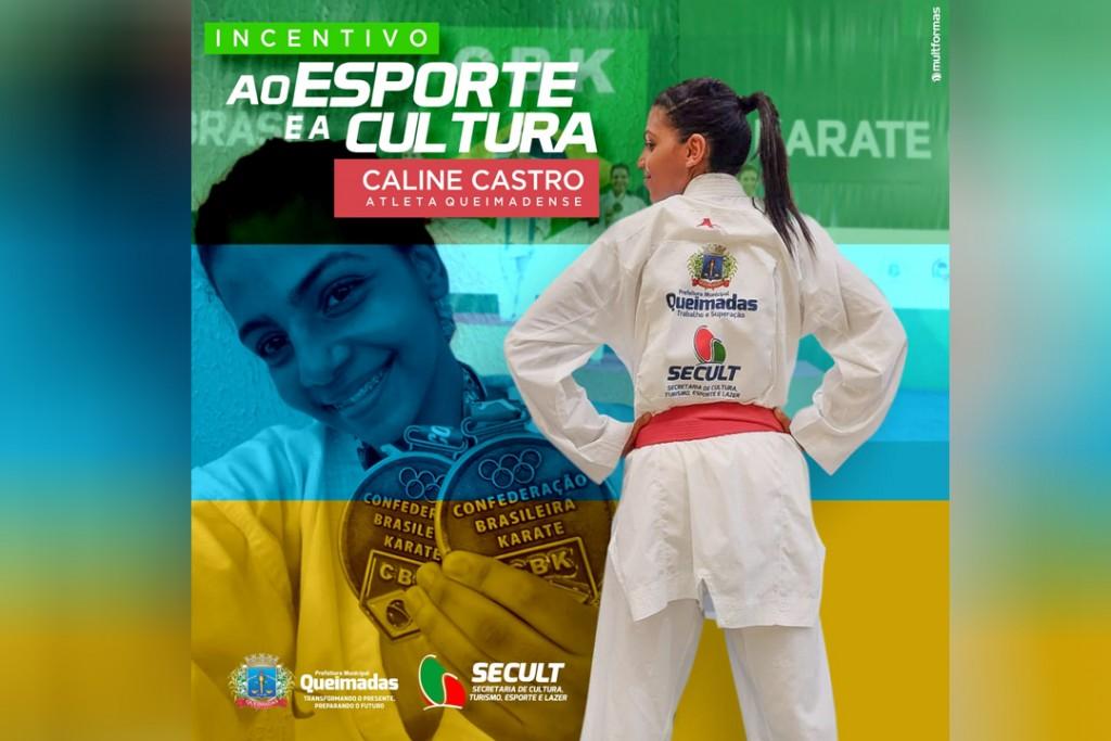 Incentivo ao esporte: atleta queimadense conquista duas medalhas no Campeonato Brasileiro Interclubes de Karatê