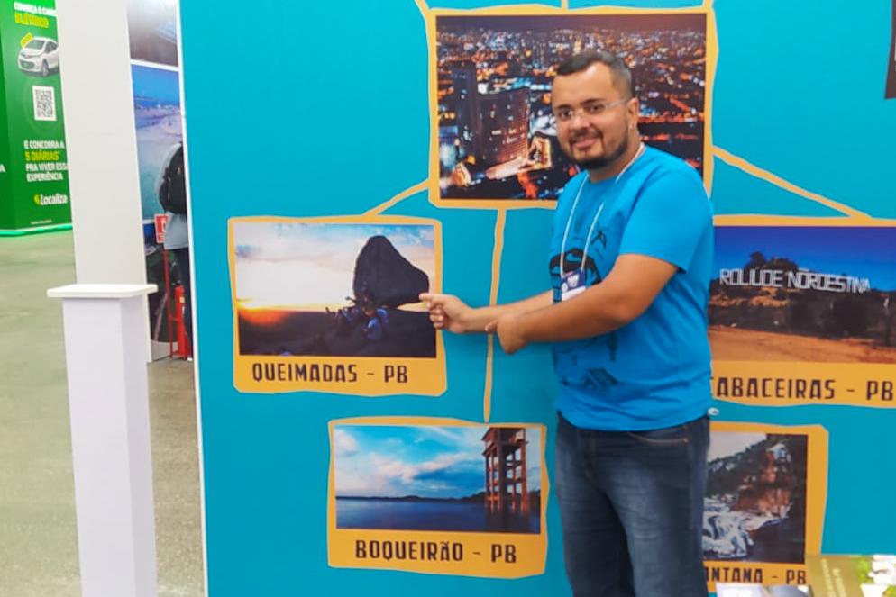 Atrativos turísticos de Queimadas são expostos na maior feira de turismo da América Latina